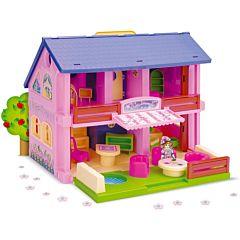 Домик Wader для кукол (розовый)