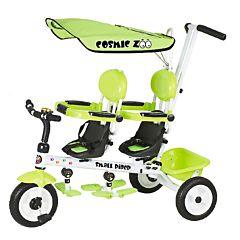 Трехколесный велосипед для двойни Small Rider Cosmic Zoo Twins