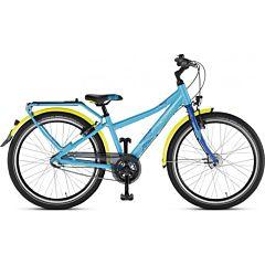 """Подростковый велосипед Puky Crusader 24-3 Alu City light с колесами 24"""" (lagoon/royal blue)"""