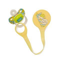 Держатель для пустышек Happy Baby Expert Pacifier Holder (Желтый)