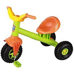 Трехколесный велосипед Plast Land Ветерок (зеленый)