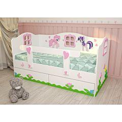 Кровать детская Дубок (Милые Пони)
