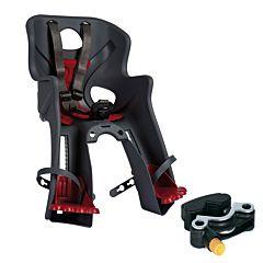 Велокресло на руль Bellelli Rabbit HandleFix до 15 кг (темно-серое)