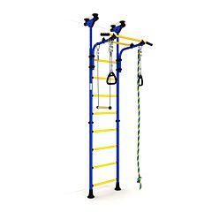 Детский спортивный комплекс Карусель Комета-5 Эконом (сине-желтый)