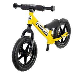"""Беговел Strider 12"""" Sport (с удлиненным штырем для седла в комплекте) (желтый)"""
