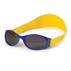 Детские солнцезащитные очки Happy Baby с ремешком (Blue)