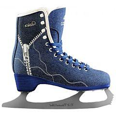 Фигурные коньки FASHION синие