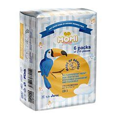 Сухие салфетки Momi Family 210 шт. (6 упаковок)