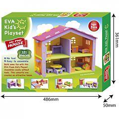 Конструктор-пазл Санта Кукольный домик 3833