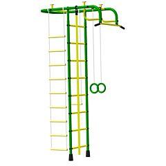 Детский спортивный комплекс Пионер А (зелено-желтый)