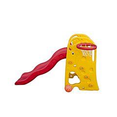 Горка детская с баскетбольным кольцом QiaoQiao Toys (Жираф)