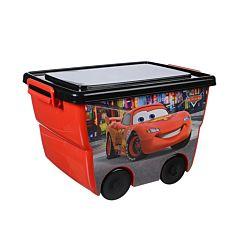 Корзина для игрушек IDEA (М-Пластика) Disney (Красный)