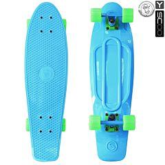 "Мини-круизер Y-Scoo Fish Skateboard 27"" с сумкой (голубой)"
