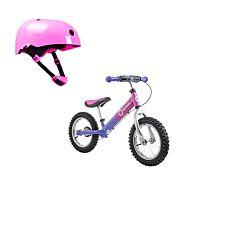 Беговел Lionelo Dex Plus со шлемом безопасности (Розовый)