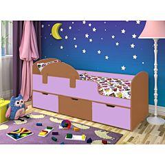 Кровать детская Ярофф Малыш Мини (вишня оксфорд/ирис)