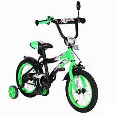 """Детский велосипед Velolider Shark 14"""" Зеленый/Черный"""