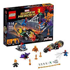 Конструктор Lego Super Heroes 76058 Супер Герои Человек-паук: Союз с Призрачным гонщиком