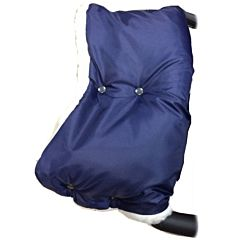 Муфта для коляски Baby Care Classic из плащевки (темно-синий)