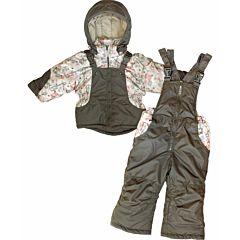 Куртка с полукомбинезоном Little People Модель 3 (бежевый)