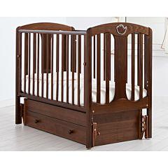Кроватка детская Гандылян Диана (универсальный маятник) (орех)