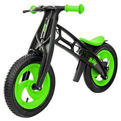 Беговел Hobby Bike FLY A (шины - елочка) (зеленый/черный)