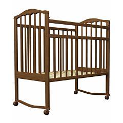 Кроватка-качалка Агат Золушка-1 (Орех)