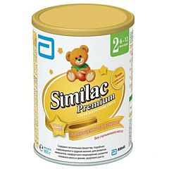 Сухая молочная смесь Similac Premium 2 (6-12 мес.) 900 г