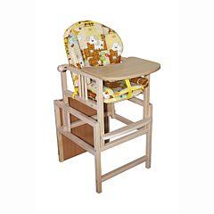 Стул-стол для кормления Гном с вкладышем