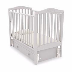 Кроватка детская Гандылян Симоник (универсальный маятник) (белая ночь)