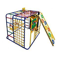Детский спортивный комплекс Формула Здоровья Кубик У Плюс (синий)