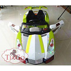 Электромобиль TjaGo 2117 с пультом управления (зеленый)