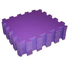 Мягкий пол Babypuzz 33*33 (фиолетовый)