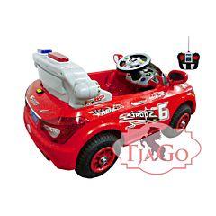 Электромобиль TjaGo BMW Police 20X8-Yj надув с пультом управления (красный)