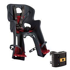 Велокресло на руль Bellelli Rabbit B-Fix до 15 кг (темно-серое)
