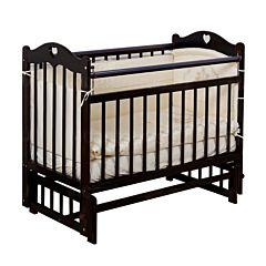 Кроватка детская Incanto Sofi (поперечный маятник) (темный)