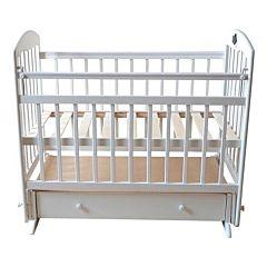 Кроватка детская Briciola 11 с поперечным маятником (белая)
