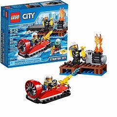 Конструктор Lego City 60106 Город Набор для начинающих: Пожарная охрана