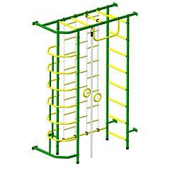 Детский спортивный комплекс Пионер 9Л (зелено-желтый)