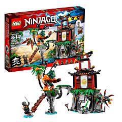 Конструктор Lego Ninjago 70604 Ниндзяго Остров тигриных вдов