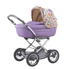 Коляска-люлька для новорожденных Happy Baby Charlotte (violet)