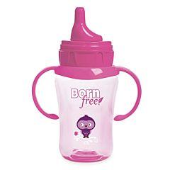 Чашка-непроливайка BornFree 260 мл (розовая)