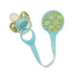 Держатель для пустышек Happy Baby Expert Pacifier Holder (Голубой)