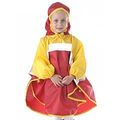 Дождевик детский Чудо-Чадо Светлячок (р.86-92) (Красно-желтый)
