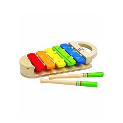 Развивающая игрушка музыкальная Hape Ксилофон Радуга