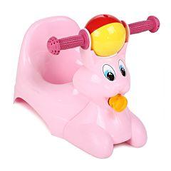Горшок-игрушка Plastic Centre Зайчик (Розовый)