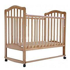 Кроватка детская Saidov Лаура 6 (качалка-колесо) (бук)