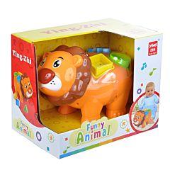 Развивающая игрушка Jia Le Toys Лев-сортер