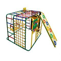Детский спортивный комплекс Формула Здоровья Кубик У Плюс (зеленый)