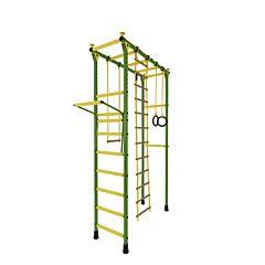 Детский спортивный комплекс Лидер П-02 (зелено-желтый)