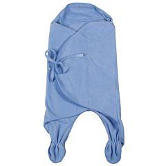 Конверт-одеяло флисовый Чудо-Чадо БыстрОдежка Эльф (Голубой)